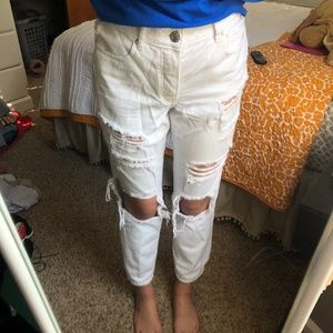 American Eagle Distressed Boyfriend Jeans